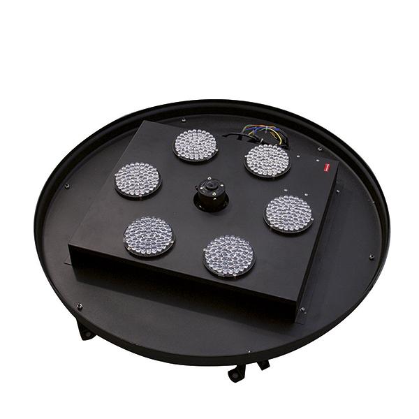 EUROLITE AC-600 Ilmaefekti valolla 6m DMX LED/RGB. Air effect. Extraordinary decorative LED illumination