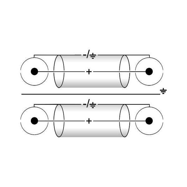 OMNITRONIC RCA-kaapeli 0,9m erillisellä maadoitusjohdolla, 2 x 2 RCA-liitin. Ammattimallin High End signaalikaapeli kovaan käyttöön. Vahvaa kaapelia laadukkailla liittimillä. CC-09
