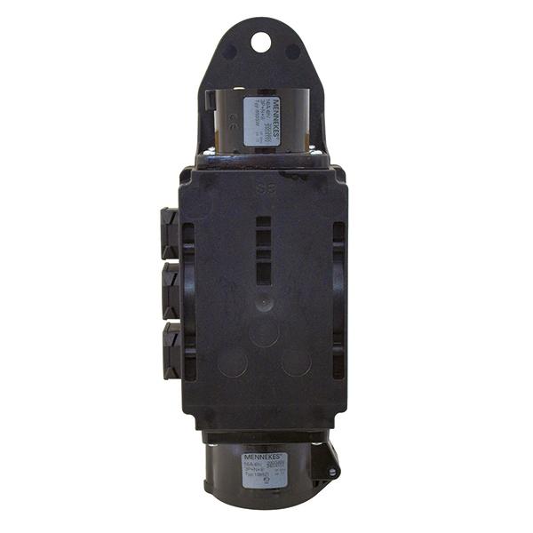 EUROLITE RPL-16 Haaroitusrasia. Power distributor. Rigport CEE line