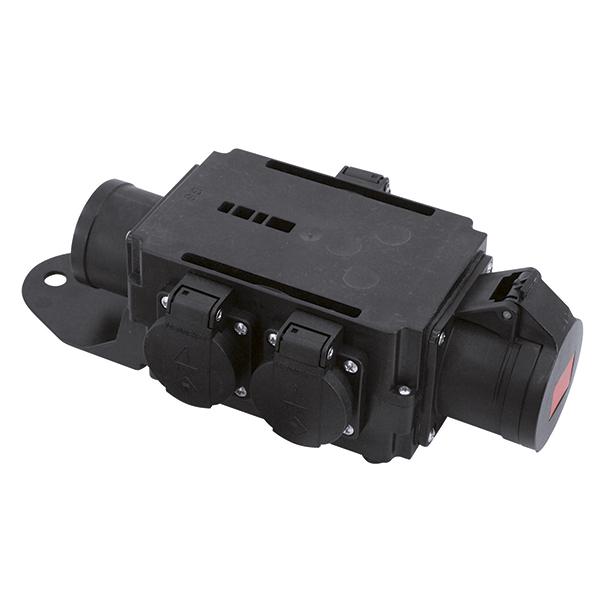 EUROLITE RPL-16S Haaroitusrasia. Power distributor. Rigport CEE line