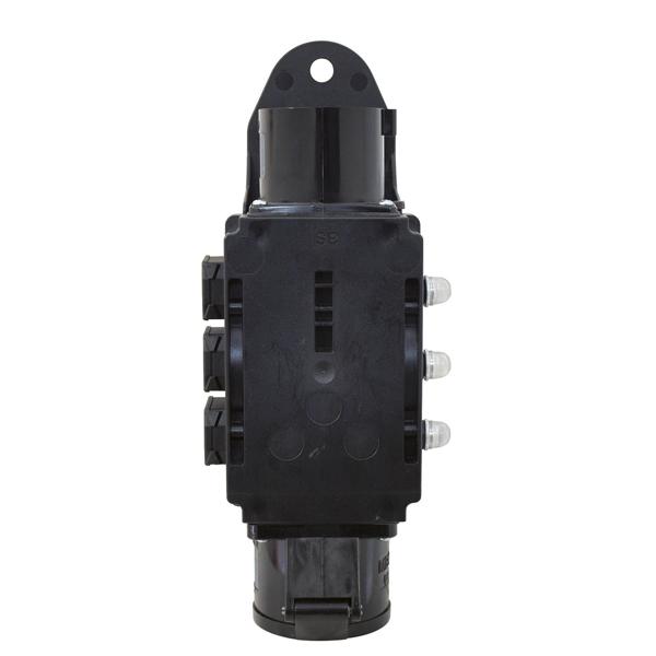 EUROLITE RPL-32 Haaroitusrasia. Power distributor. Rigport CEE line