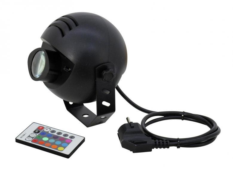 EUROLITE LED-valaisin PST-9W TCL IR Spot, discoland.fi