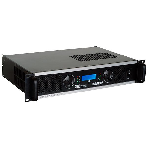 POWERDYNAMICS PDA-B1000 Päätevahvistin 2x500W 4ohm Professional Amplifier 2x 500W 4ohms. Powerdynamics on hollantilainen ammattitasoisiin audiolaitteisiin keskittynyt valmistaja. Nyt saatavilla laadukkaat vahvistimet sopuhintaan kaupastamme. PDA sarja sisältää tällä hetkellä neljä eri tehoista päätevahvistinta 500W, 1000W, 1500 sekä 2000W. Tehokkaimmat 1500W ja 2000W mallit toimivat myös 2 ohm kuormalla! Kaikki mallit ovat sillastettavia tai stereo modessa toimivia. LCD näytöstä näet koko ajan toiminteet, tehon käyttö, lämpötila sekä käytön tila esim. Bridge. Erittäin laadukas konstruktio ammattikäyttöön!