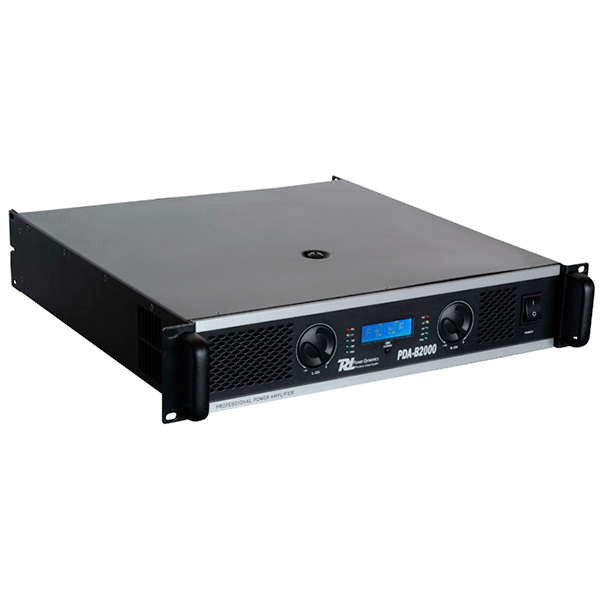 POWERDYNAMICS PDA-B2500 Päätevahvistin 2x1250W 4ohmia 2x 1700W 2ohmia