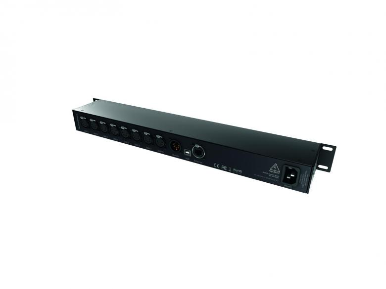 MADRIX Node 8 Artnet/DMX. DMX-kytkin & jakaja. 8-fold DMX node for rack mounting. DMX Ethernet gateway for distributing DMX signals over Cat5 or with wireless ethernet systems.