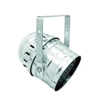 POISTO EUROLITE LED PAR-64 RGBAW-väreillä 49x 3W, hopea, todella tuhti LED PAR-64