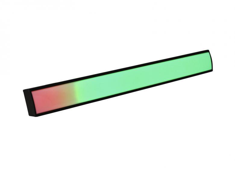 EUROLITE LED pikselipalkki tri-color LEDeillä, DMX-ohjattava, stand alone, musiikkiohjattava, master/slave toiminto. LED Pixel Bar 16 DMX. DMX-controllable pixel bar with tri-color LEDs. Mitat 500 x 110 x 60 mm sekä paino 1,5kg. Voidaan ohjata 48 DMX kanavalla.
