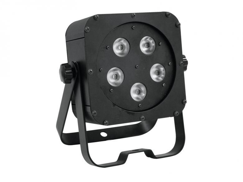 EUROLITE LED SLS-5 valonheitin BCL valko, discoland.fi