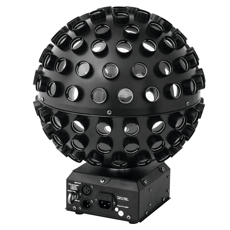 EUROLITE B-40 LED siili peilipallo valoe, discoland.fi