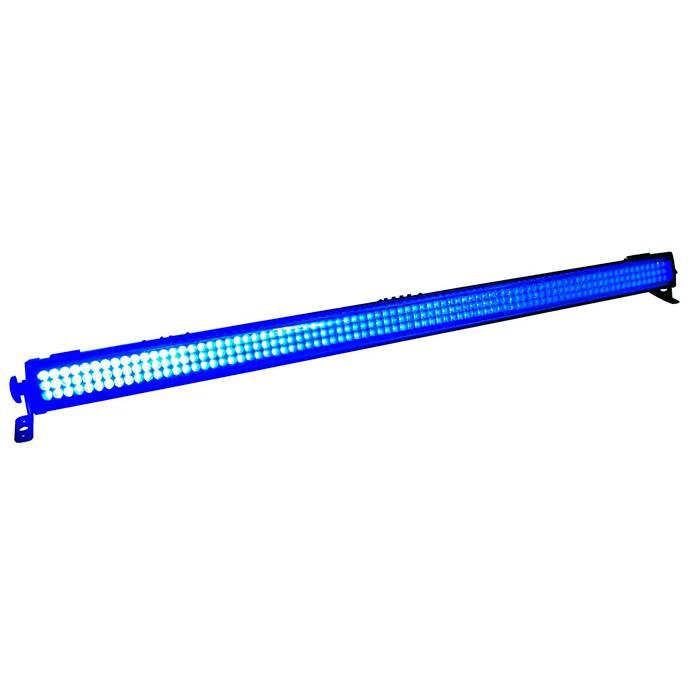 EUROLITE LED BAR-252 UV-palkki 252x 10mm UV-LED 15° langattomalla kauko-ohjaimella