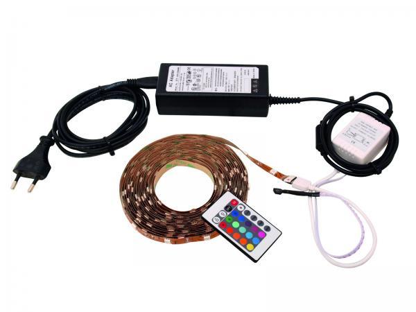EUROLITE LED-nauhasetti 1,5m SMD5050 IR-, discoland.fi