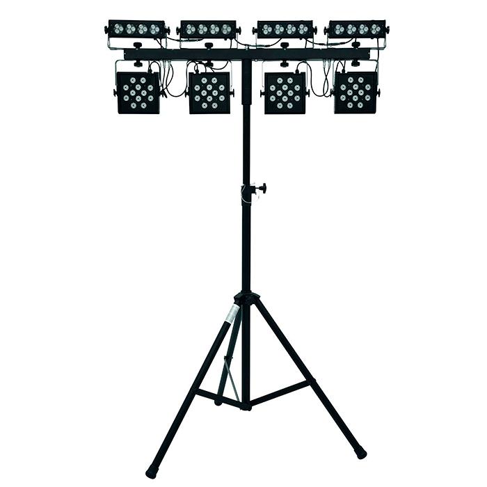 EUROLITE LED-valosetti KLS-Kombo Pack 3. Compact mobile light set.