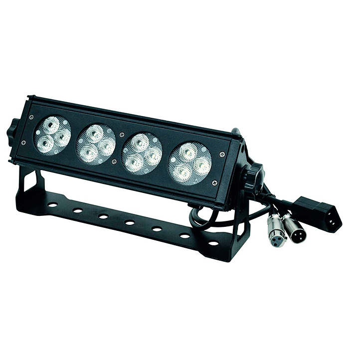 EUROLITE ACS BAR-12 UV-palkki 12x 1W LED, discoland.fi
