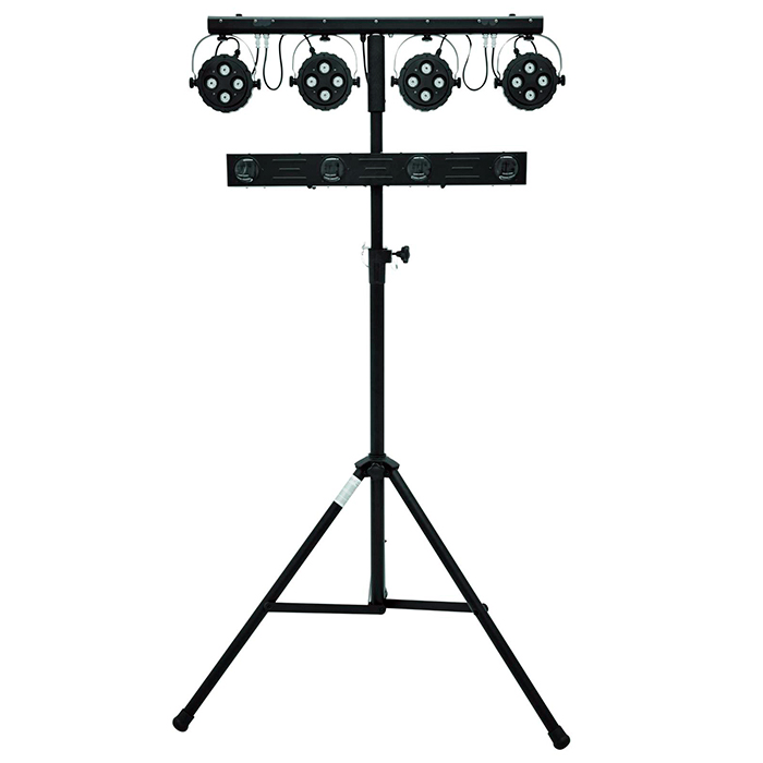 EUROLITE LED-valosetti KLS-Kombo Pack 7. Compact mobile light set.