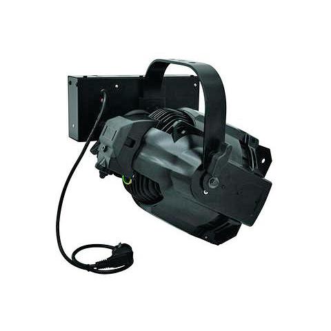 EUROLITE ML-575E Ammattitason Multilinssi teatterivalonheitin, musta. Professional theatre spot in ML-PAR Design, black.