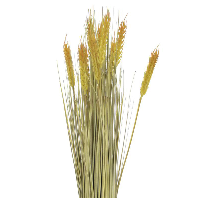 EUROPALMS 60cm Vehnälyhde. Wheat bunch. Very realistic, ideal for demanding decoration ideas