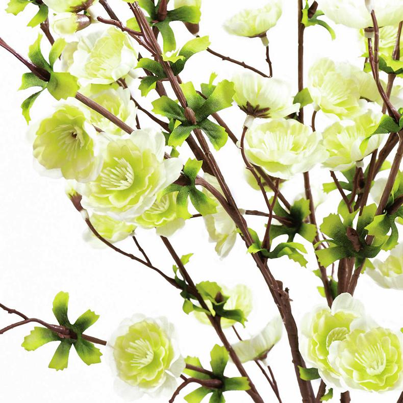 EUROPALMS 60cm Kirsikanoksa kermanvärinen. Cherry branch, cream
