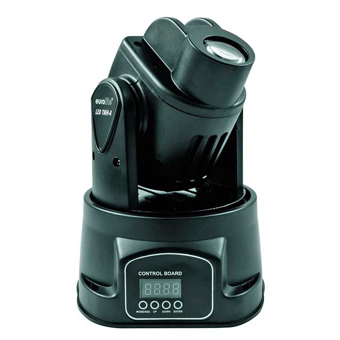 EUROLITE LED TMH-8 Pieni Moving Head Spo, discoland.fi