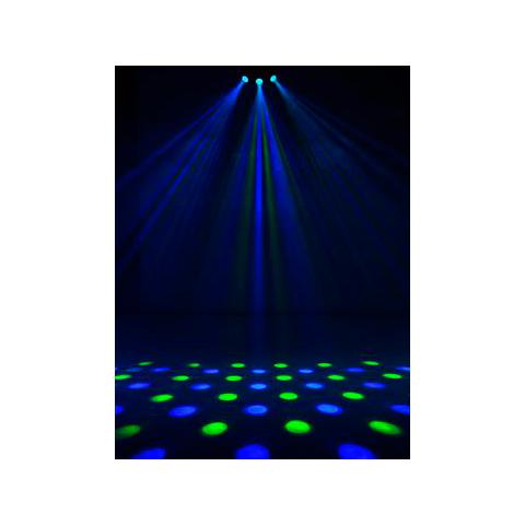 EUROLITE LED PIX-3 Flower-efekti 192x 5mm LEDiä 80°, voidaan kiinnittää myös suoraan standiin, DMX, stand alone tai musiikkiohjaus, master/slave. LED flower effect with various rigging possibilities. UUTUUS! 3.2012