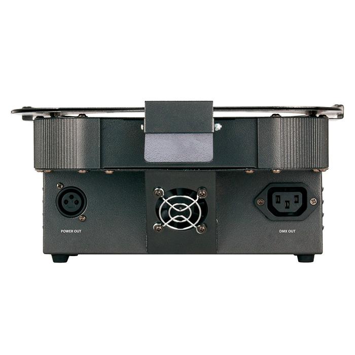AMERICANDJ Loppu!!FLAT PAR TRI18X RGB LED-valoheitin 18x 3W TRI COLOR LEDiä, 40˚, himmennettävä 0 - 100%, DMX, musiikkiohjaus, master/slave, auto run, manual color mode, color fade mode, color chance mode, 32 sisäänrakennettua värimacroa
