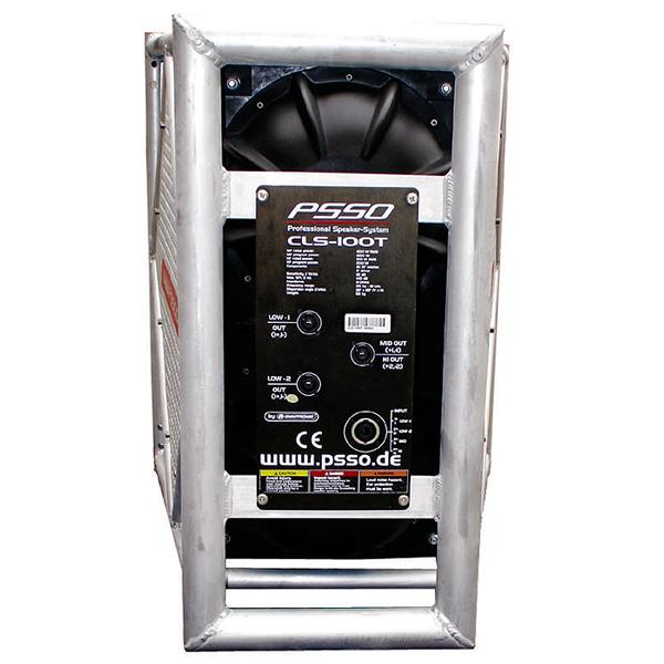 POISTO PSSO CLS-100T Biamp kokoalue kaiutin 140dB! Demo setti tarjolla 2kpl yläpää sekä 2kpl alapää! Mahtava äänenpaine. Woofer 2x 10