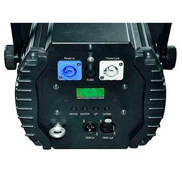 EUROLITE LED STL-50F PRO studiovalonheitin päivänvalo värilämmöllä 5600K, COB LED 50W, himmennin, strobe, DMX tai stand-alone, master/slave.