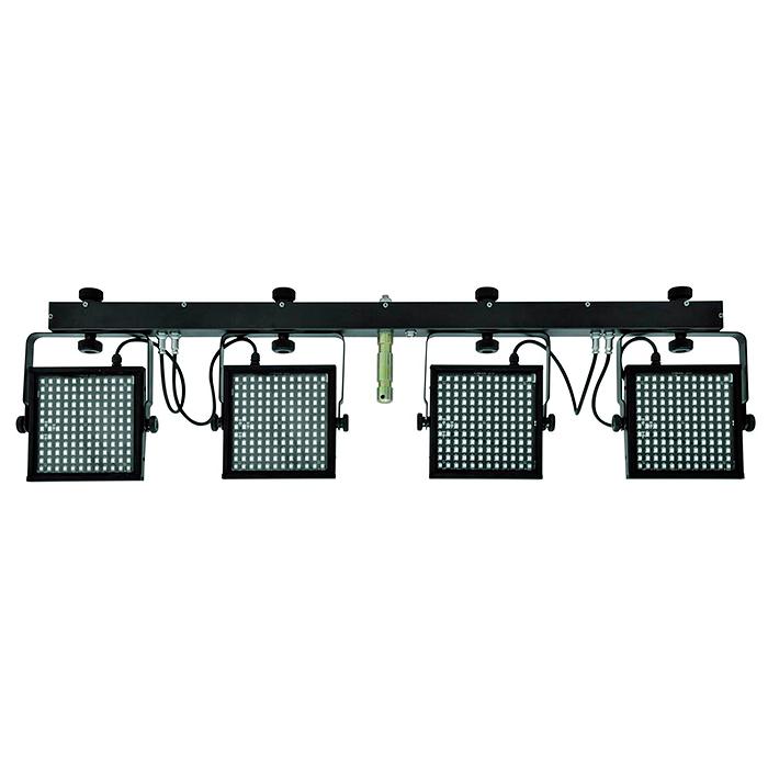 EUROLITE LED KLS-5050 4 slimline-spotin , discoland.fi