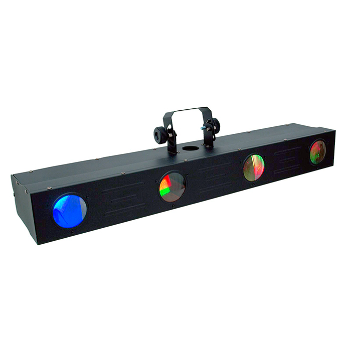 EUROLITE LED FE-Bar Flower valoefektipalkki 20x 1W RGBAW 40° LEDiä, sisäänrakennetut ohjelmat, musiikkiohjaus, DMX-ohjaus tai stand-alone, master/slave. RGBAW flower-effect bar