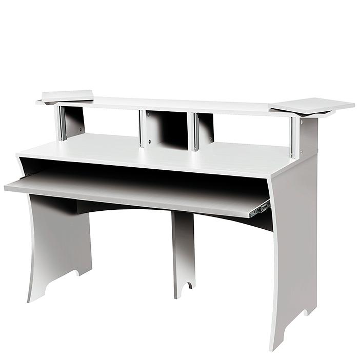 GLORIOUS Höyläpenkki DJ pöytä 1520 x 951 x 550mm valkoinen. Workbench white tämä työtaso on tehty tämän päivän tiskijukille.