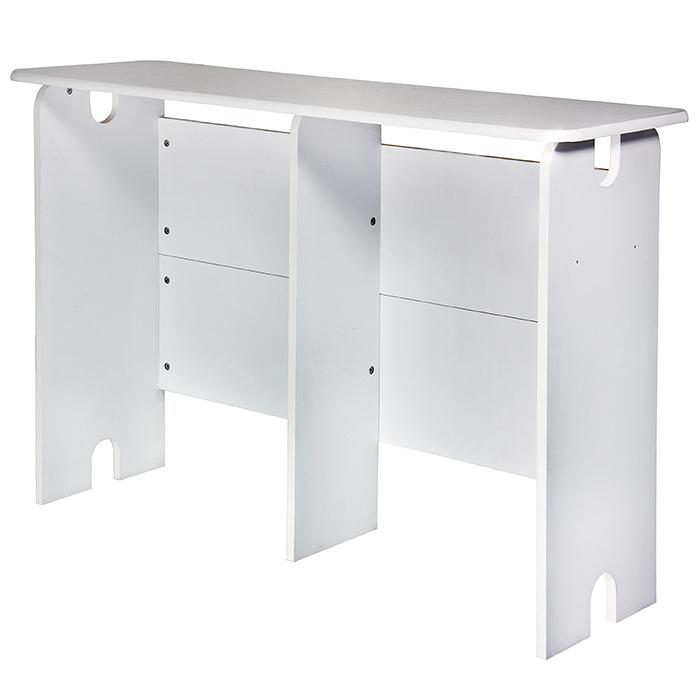 GLORIOUS Miksausasemapöytä 1280 x 898 x 430mm, valkoinen. Mix Station white