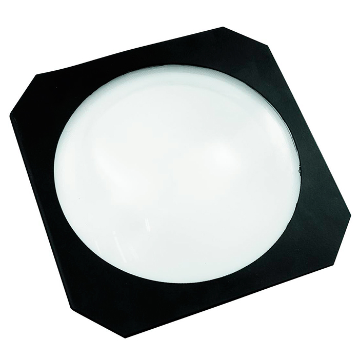 EUROLITE Fresnel-linssi LED COB ML-56 valoheittimille, väri musta. Fresnel lens for LED COB ML-56, black. Fresnel lens to reduce the beam angle with high effciency and homogeneous illumination.