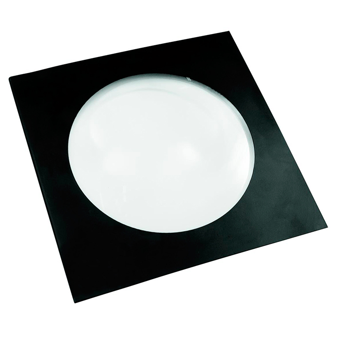 EUROLITE Fresnel-linssi LED COB PAR-56 valoheittimille, väri musta. Fresnel lens for LED COB PAR-56, black. Fresnel lens to reduce the beam angle with high effciency and homogeneous illumination.