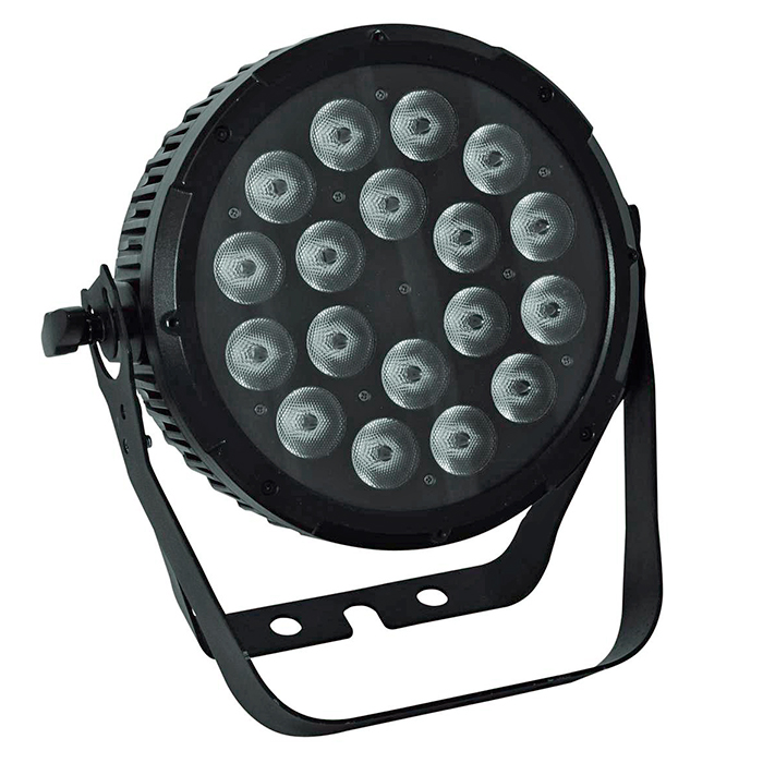 FUTURELIGHT PRO Slim PAR-18 LED-valonhei, discoland.fi
