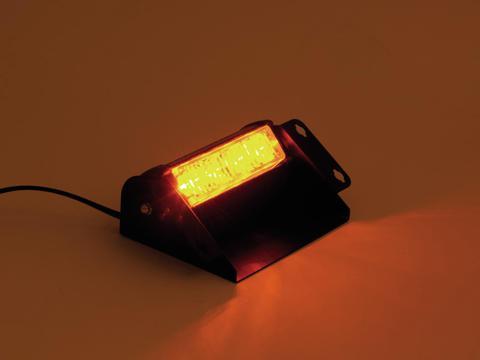 EUROLITE LED Poliisivalo oranssi PRO 12V Tehokas uusi malli 4x 1W LEDiä. Police light amber high power. Mitat 165 x 100 x 60 mm sekä paino 0,4kg.