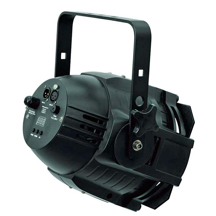 EUROLITE LED ML-56 BCL 36x 4W CW/WW värilämpösekoitus (kylmä/lämmin valkoinen) 25°, runko musta, 17 valmista väriasetusta, himmenninkäyrät ja himmennyksen nopeus säädettävissä, strobe, DMX-ohjaus tai stand-alone, master/slave.