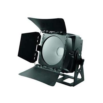 EUROLITE LED IP65 PAD valoheitin 150W RGB COB LED 60°, musta, LED-toimintonäyttö ja ohjainpaneli valaisimen takana, himmennin, strobe-efekti, sisäänrakennetut ohjelmat, DMX-ohjaus tai stand-alone, master/slave. Ultra-flexible architectural spot.