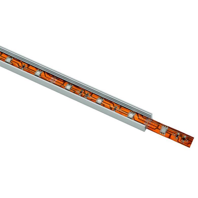 EUROLITE U-alumiiniprofiili 2m LED-nauhalle.