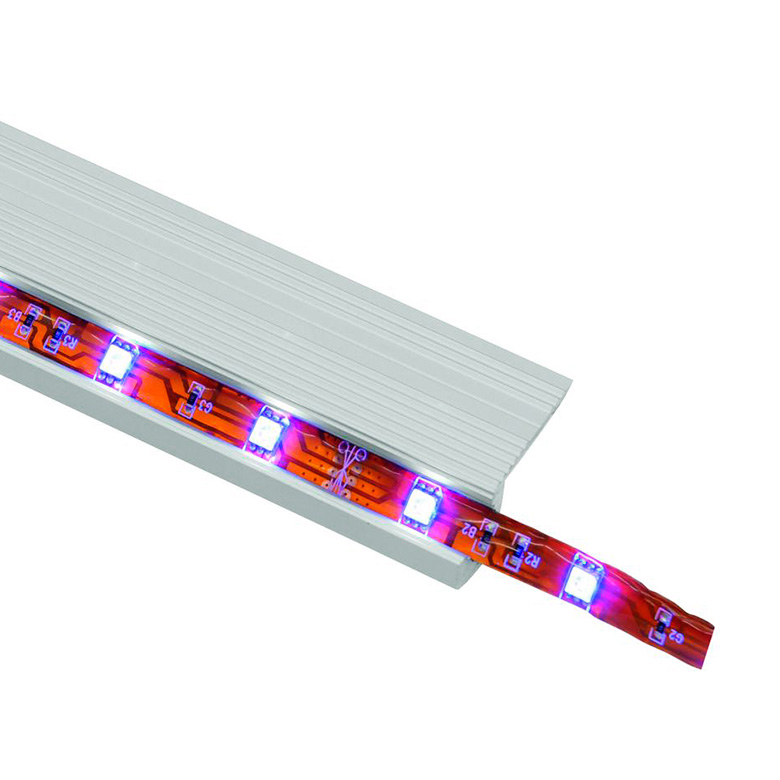 EUROLITE Askelma-alumiiniprofiili 2m LED-nauhalle.