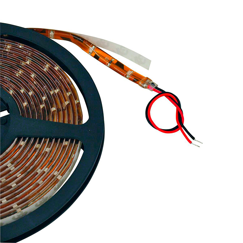 EUROLITE LED-nauha IP68 Strip 150x SMD3528 LEDiä, 5m punainen 12V, LED-valonauha sopii ulko- ja sisäkäyttöön. Flexible LED strip for indoor and outdoor use