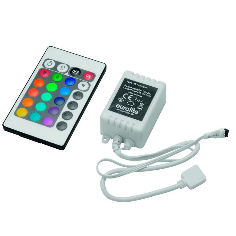 EUROLITE LED Strip RGB valo-ohjain IR 12, discoland.fi