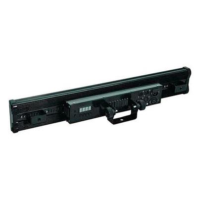 FUTURELIGHT LB-648 PRO LED-palkki 648x SMD 5050 TCL RGB LEDiä, 110° erittäin leveä valokeila, 8 segmenttiä itsenäisesti ohjattavissa, staattiset värit, RGB-värisekoitus, himmennin ja strobe-efekti DMX:n kautta, valmiit sisäänrakennetut ohjelmat, musiikkiohjaus, sisäänrakennettu mikrofoni - herkkyys säädettävissä, DMX-ohjaus tai stand-alone, master/slave. Professional LED Bar SMD 5050.