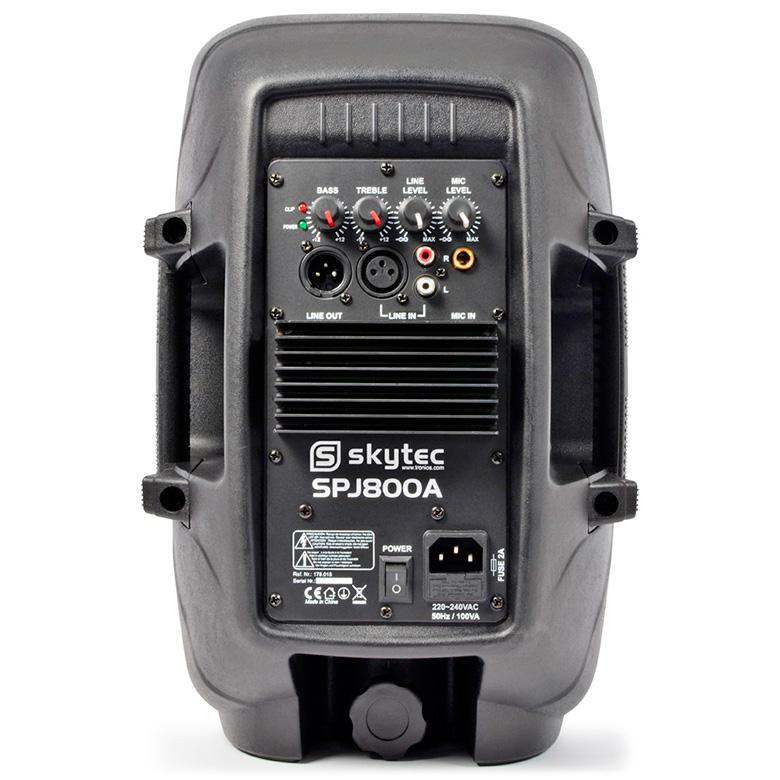 SKYTEC SPJ-800A aktiivikaiutin 100W 8