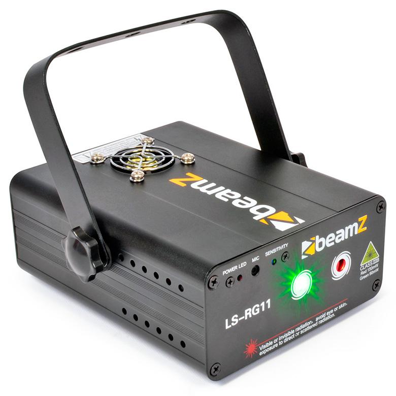 BEAMZ LS-RG11 Laser valoefekti puna-vihr, discoland.fi