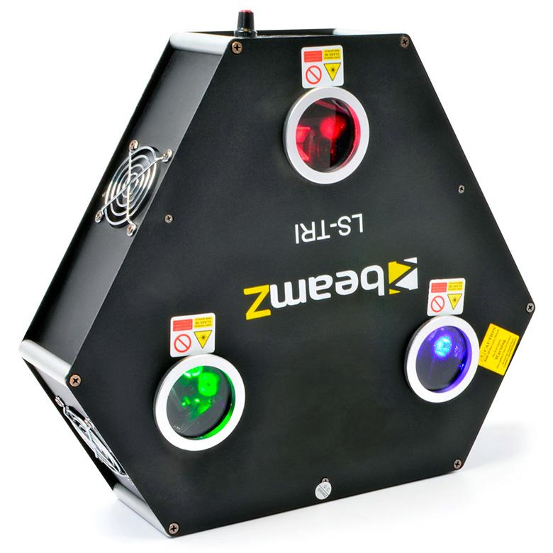 BEAMZ LS-FBTRI RGB Laser Red 300mW, Gree, discoland.fi