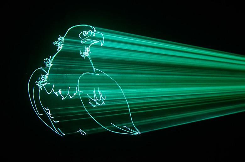 LS-1W PRO Animation Laser 1W DMX SD RGB