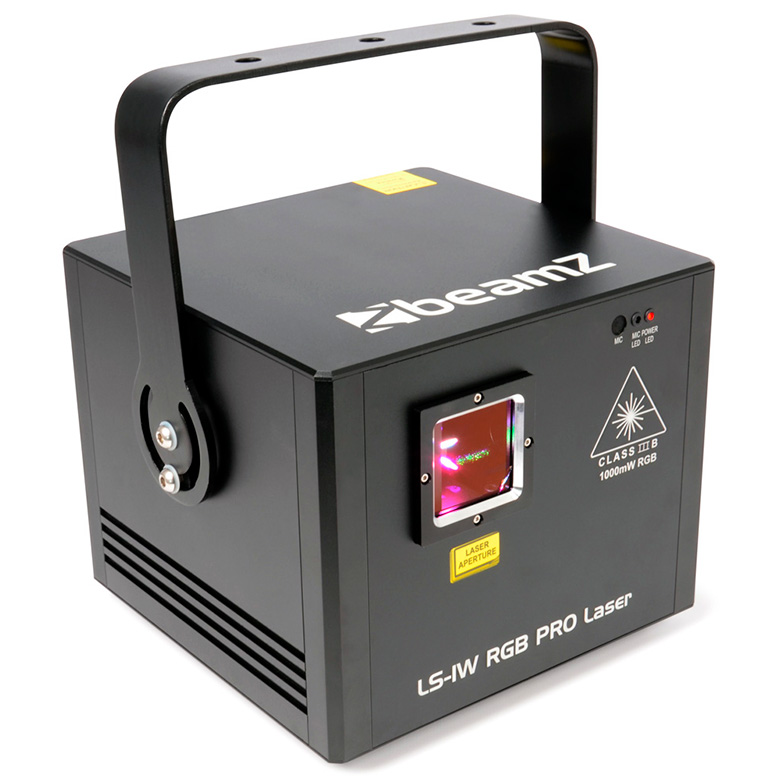 BEAMZ LS-1W PRO Animation Laser erittäi, discoland.fi