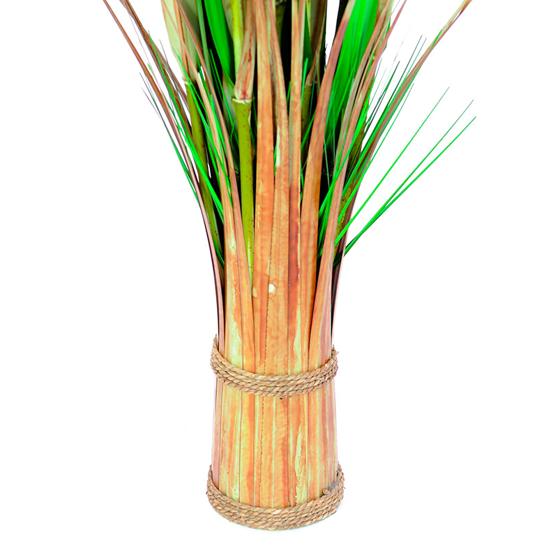 EUROPALMS 150cm Koristeruoho Fox grass. Space saving bundle of grass - easy to move.
