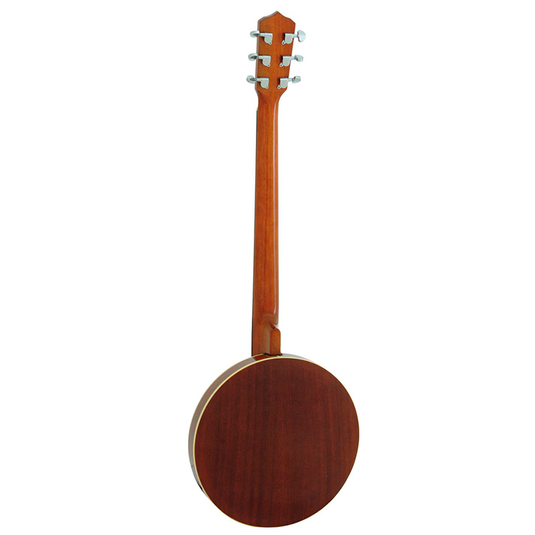 DIMAVERY BJ-30 Banjo 6-kielinen, mahonkinen resonaattori, kaula mahonkia, otelauta ruusupuuta.