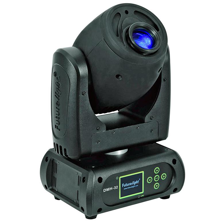 FUTURELIGHT DMH-32 RGBW LED Moving Head , discoland.fi