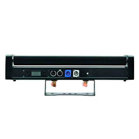 FUTURELIGHT POS-6 Scannaava LED-palkki 6x8W. RGBW quadcolor LEDiä 36°, max. TILT-liike 240°, LED-toimintonäyttö ja ohjauspaneeli laitteessa, staattiset värit, RGBW-värisekoitukset, 11 esiasetettua värilämpötilaa, automaattinen värienvaihto, sisäänrakennetut ohjelmat, himmentimen nopeus säädettävissä, strobe-efekti, ääniohjauksen herkkyys säädettävissä, DMX-ohjaus tai stand-alone, master/slave.